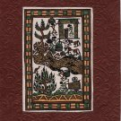 Warli Painting Handmade Indian Maharashtra Tribal Miniature Decor Varli Folk Art
