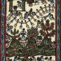 Warli Indian Painting Handmade Maharashtra Tribal Miniature Decor Varli Folk Art