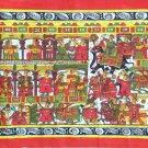 Phad Rajasthan Miniature Painting Handmade Indian Folk Scroll Decor Ethnic Art