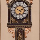 Rajasthani Miniature Art Handmade Antique Clock Home Wall Decor Ethnic Painting