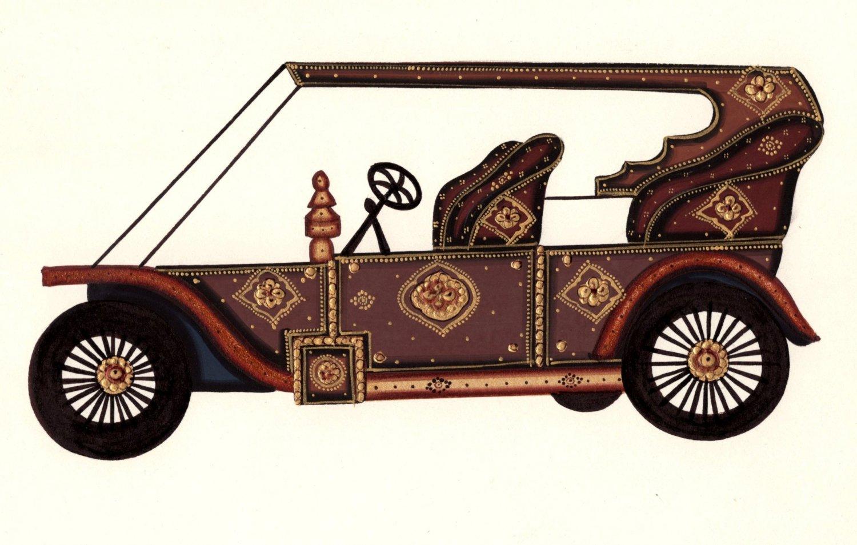 Art Handmade Indian Antique Car