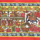 Phad Scroll Painting Handmade Rajasthan Indian Miniature Folk Decor Ethnic Art