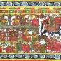 Phad Scroll Painting Handmade Rajasthan Indian Miniature Folk Decor Ethnic Art
