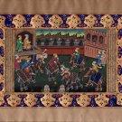 Persian Miniature Painting Illuminated Manuscript Indo Islamic Calligraphy Art