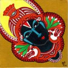 Kerala Mural Vitthala Vithoba Painting Handmade South Indian Hindu Ethnic Art