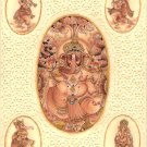Ganesha Hindu Miniature Art Handmade Lord Ganesh Indian Religious Decor Painting