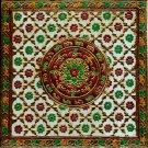 Meenakari Indian Art Handmade Floral Pattern Jaipur Minakari Ethnic Decor Art