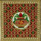 Minakari Indian Art Handmade Floral Pattern Jaipur Meenakari Ethnic Decor Art