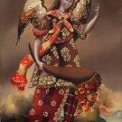 Archangel San Gabriel Peruvian Cuzco Art Handmade Oil Canvas Religious Painting