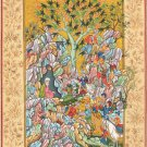Persian Miniature Painting Handmade Haft Awrang of Jami Rosary of the Pious Art