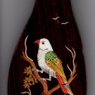 Mysore Bird Inlay Art Handmade Indian Miniature Rosewood Wall Hanging Decor
