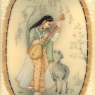 Rajasthan Miniature Todi Ragini Ragamala Art Indian Handmade Ethnic Painting