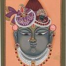 Shrinathji Krishna Art Handmade Srinathji Hindu Spiritual Sreenathji Painting