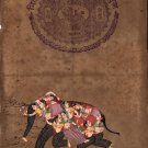 Nari Kunjar Composite Elephant Painting Handmade Indian Miniature Rajasthani Art