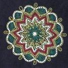 Kolam Embroidery Handicraft Handmade Indian Irula Tribe Decor Purse Artwork
