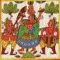 Rajasthani Phad Painting Handmade Indian Folk Miniature Royal Maharani Wall Art