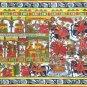 Phad Indian Art Handmade Rajasthan Miniature Folk Scroll Decor Ethnic Painting