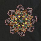Embroidery Handicraft Handmade Indian Irula Tribe Decor Kolam Pattern Artwork