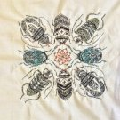 Beetle Insect Kolam Embroidery Art Handmade Indian Irula Tribe Nature Handicraft