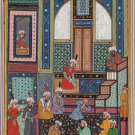 Persian Miniature Painting from Diwan of Hafiz by Shaykh Zadeh Indo Islamic Art