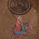 Rajasthan Folk Miniature Art Handmade Dhola Maru Indian Ethnic Decor Painting