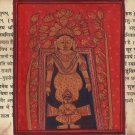 Jainism Kalpasutra Art Illuminated Manuscript Indian Historical Jain Painting