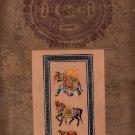 Elephant Horse Camel Art Handmade Indian Animal Miniature Nature Decor Painting