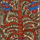 Madhubani Painting Handmade Indian Miniature Mithila Tree of Life Ethnic Art