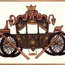 Indian Rajasthani Miniature Painting Handmade Royal Chariot Ethnic Decor Art