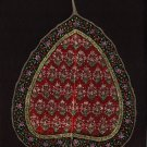 Peepal Leaf Painting Handmade Indian Miniature Floral Wall Decor Art Drawing