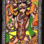 Madhubani Ganesha Indian Tribal Folk Art Handmade Mithila Bihar Ethnic Painting