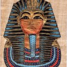 Egyptian Papyrus Pharaoh Painting Handmade Egypt Decor Miniature Historical Art