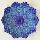 Minakari Iran Fine Art Handmade Ethnic Iranian Pattern Enamel Decor Painting