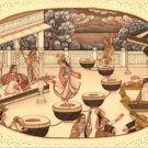 Mughal Miniature Painting Handmade Classic Indian Historical Mogul Harem Art
