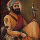 Hargobind Sikh Art Handmade Indian Sihkism Sixth Guru Ethnic Oil Canvas Painting