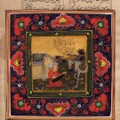Persian Illuminated Manuscript Painting Handmade Muslim Islamic Miniature Art