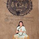 Sita Hindu Goddess Painting Indian Ethnic Ramayana Religious Miniature Painting