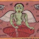 Tantrik Tantra Yoga Meditation Painting Handmade Asian Indian Tantric Yantra Art