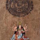Tara Durga Kali Shiva Art Handmade Hindu Goddess Deity Spiritual Ethnic Painting