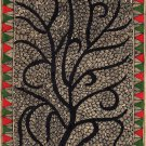 Madhubani Painting Indian Mithila Miniature Handmade Tree of Life Ethnic Art