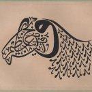 Zoomorphic Islam Calligraphy Art Handmade Persian Arabic Indian Turkish Painting