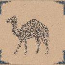 Islam Handmade Calligraphy Drawing Turkish Persian Arabic Indian Zoomorphic Art