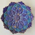 Minakari Iran Handicraft Handmade Ethnic Iranian Floral Enamel Meenakari Art