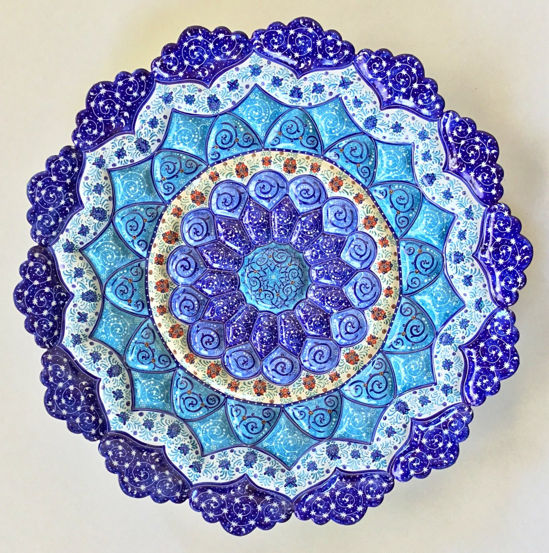Minakari Iran Art Handmade Ethnic Iranian Floral Enamel Meenakari Handicraft