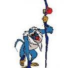 Lion King Rafiki Embroidery Design