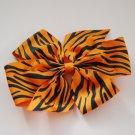 Zebra Pinwheel Bow