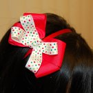 Hard Headband,Satin Finish,Boutique Bow
