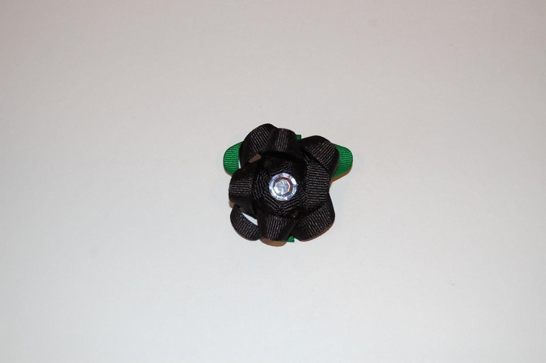 Clip, flower clippie,black