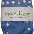 incredibum One Size Bamboo Cloth Diaper - Ocean