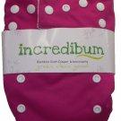 incredibum One Size Bamboo Cloth Diaper - Flutter